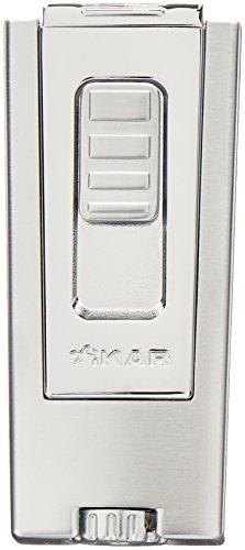 Xikar 9657SL Silver Trezo Lighter