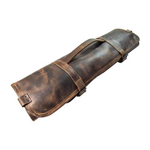 Hide & Drink, Durable Leather Knife Roll with Durable Water Resistant...