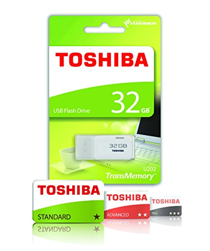 41DqhpQs5FL - Toshiba TransMemory U202 32GB USB Flash Drive USB 2.0 - White - THN-U202W0320E4