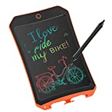 JRD&BS WINL Colorful LCD Electronic Writing Tablet Toys for 4-9Year Old Boys, Teen Boy Girl Birthday Presents Gifts,8.5' Handwriting Paper Drawing Tablet at Home and Outdoor(Orange)
