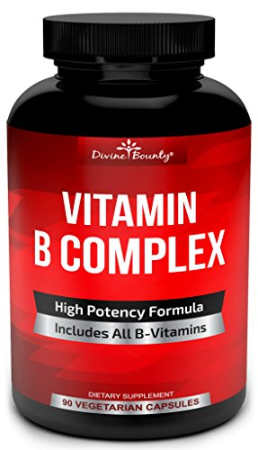 Super-B-Complex-Vitamins-ALL-B-Vitamins-Including-B12-B1-B2-B3-B5-B6-B7-B9-Folic-Acid-Vitamin-B-Complex-Supplement-for-Stress-Energy-and-Healthy-Immune-System-90-Vegetarian-Capsules