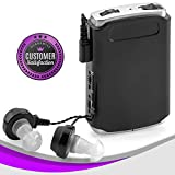 Sound Amplifier - Pocket Sound Voice Enhancer Device with Duo Mic/Ear Plus Extra Headphone and Microphone Set, Personal Hearing Amplifier Device by MEDca