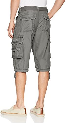 Unionbay Men's Cordova Belted Messenger Cargo Short - Reg and Big and Tall Sizes 2