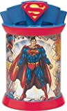 Superman Ceramic Metal Cookie Jar Canister