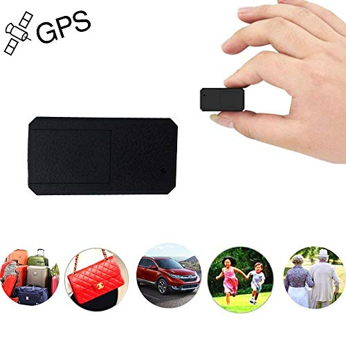 Mini GPS Tracker TKSTAR Anti-Theft Real Time Tracking on App Anti-Lost GPS Locator Tracking Device for Bags Kids Satchels Important Documents Luggage TK901