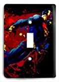 Superman Spot Color Light Switch Cover