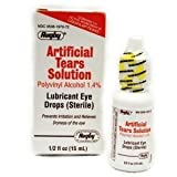 6 Pack Rugby Sterile Artificial Tears Solution 15ml, (Pack of 6) *Compare and Save*