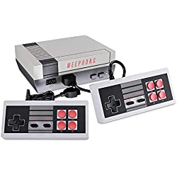 MEEPHONG Retro Game Console, HDMI HD NES Console Classic Game Console Built-in Hundreds of Classic Video Games