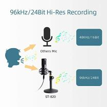 USB-Streaming-Podcast-PC-Microphone-with-Aluminum-Storage-CaseSUDOTACK-Professional-96KHZ24Bit-Studio-Cardioid-Condenser-Mic-Kit-with-Sound-Card-Desktop-Stand-Shock-Mount-for-Skype-Youtuber-Gaming