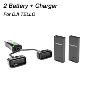 Diadia 2in1 Multi Battery Intelligent Quick Charging + 2 Battery for DJI Tello Drone 41EPNd0VduL