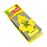 LITTLE TREES Car Air Freshener | Hanging Paper Tree for Home or Car | Vanillaroma | 6 Pack