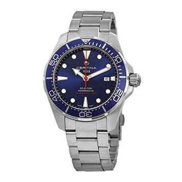 Certina DS Action Diver Blue Dial Automatic Mens Watch C032.407.11.041.00