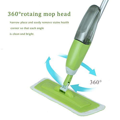 41ESaQ0oCyL - MR STORES Microfiber Floor Cleaning Healthy Spray Mop with Removable Washable Cleaning Pad and Integrated Water Spray Mechanism