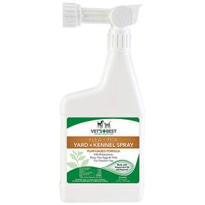 Vet's Best Flea and Tick Yard and Kennel Spray | Yard Treatment Spray Kills Mosquitoes, Fleas, and Ticks with Certified Natural Oils 3