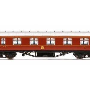 Hornby R4803 LMS Corridor 1st Class '1041', Crimson Lake 41EXqHaHcAL