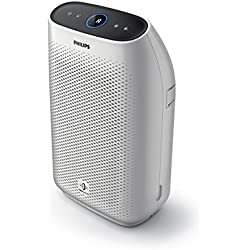 Philips Air Purifier 1000i, Connected and App enabled, True HEPA, Reduces Allergens, Pollen, Dust Mites, Mold, Pet Dander, Gases and Odors, for Bedrooms