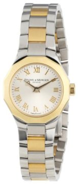 Baume & Mercier Women's 8762 Riviera XS Two-Tone Gold Dial Watch