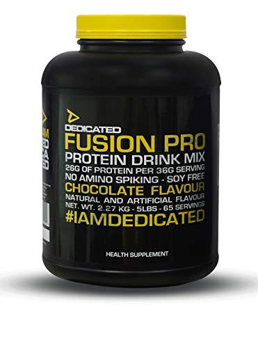 Dedicated Nutrition Fusion Pro Protein Powder