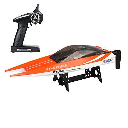 Feilun FT-016O RC Speed Boat, Large, Orange
