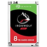 Seagate IronWolf 8TB NAS Internal Hard Drive HDD - 3.5 Inch SATA 6Gb/s 7200 RPM 256MB Cache for RAID Network Attached Storage (ST8000VN0022)
