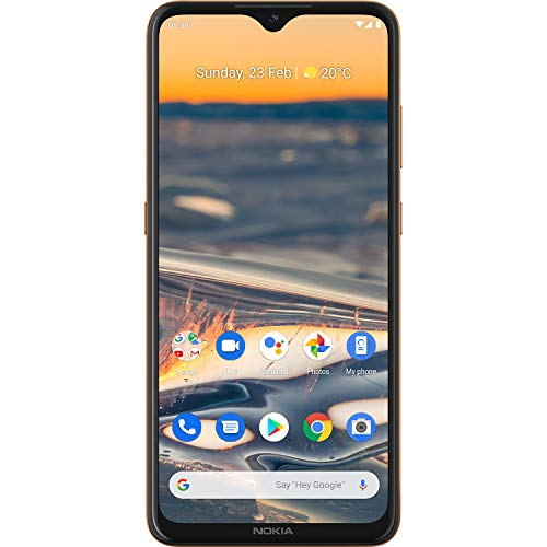 41Ent4Wy6BL - Nokia 5.3 Android One Smartphone with Quad Camera, 6 GB RAM and 64 GB Storage - Sand