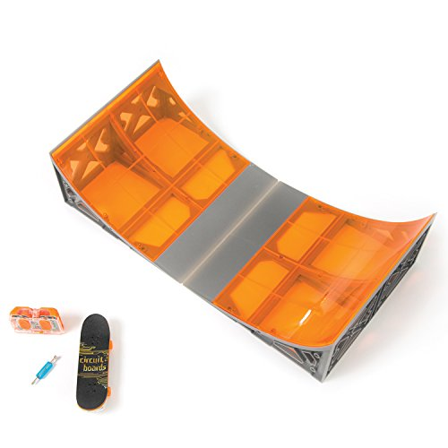 Tony Hawk Circuit Boards Remote Control Skateboard Halfpipe Ramp -Colours May Vary