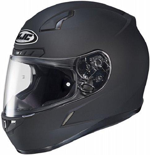 HJC CL-17 Full-Face Motorcycle Helmet (Matte Black, X-Large)