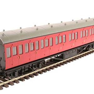 Hornby R4799 BR(Ex LMS) Non-Corridor Composite Coach, Multi 41Ev2AtZ8jL