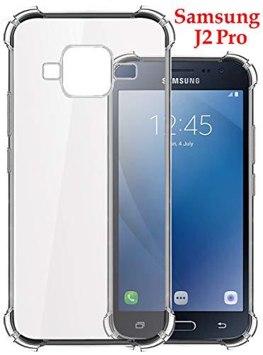 Jkobi Silicone Back Case for Samsung Galaxy J2 Pro -Transparent 2