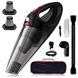 Kimitech Handheld Vacuum, Handheld Vacuums Cleaner Wireless, Hand held Vacuum Cordless, Light Weight Portable Vacuum Cleaner for Home/Car,Wood Floorsand House Cleaning