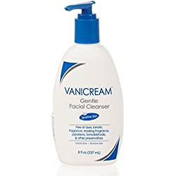 Vanicream Gentle Facial Cleanser For Sensitive Skin, 8 Fl Oz (Pack of 3)