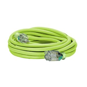 Flexzilla 50-Feet 10-3 Outdoor Extension Cord with Lighted Plug