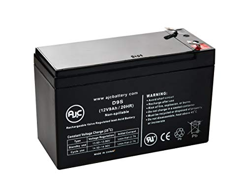 RB1280A 12V 9Ah UPS Battery - This is an AJC Brand Replacement