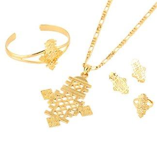 Womens-Cross Jewelry Sets
