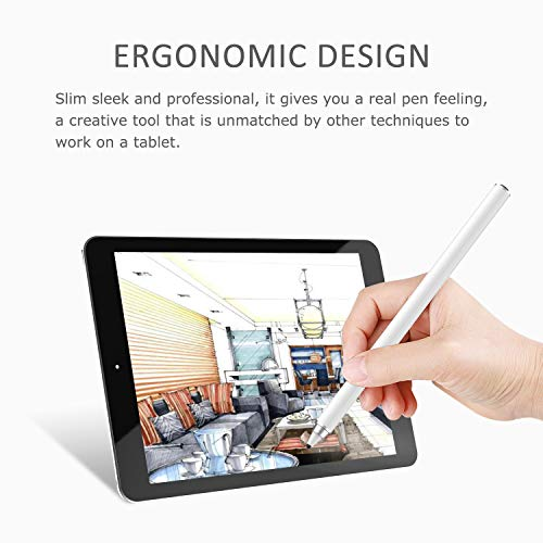 41FEeWFqmnL - AWAVO Stylus Pens for Apple iPad Capacitive Rechargeable Digital apple pencil with 1.5mm Ultra Fine Tips and magnetic charging port, Compatible with Apple iPad/iPhones/Tablets[work for IOS Android]