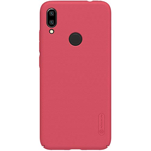 Nillkin Case for Xiaomi Redmi Note 7 Super Frosted Hard Back Cover Hard PC Red Color 3