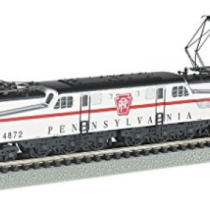 Bachmann Industries Gg 1 Dcc Sound Value Equipped Electric Locomotive, Silver/Red Stripe 41FGdLnP7jL