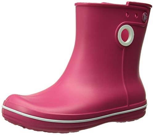crocs Women's Jaunt Shorty Boot, Berry, 7 M US