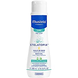 Mustela Stelatopia Bath Oil for Eczema-Prone Skin, 6.7 fl.oz.