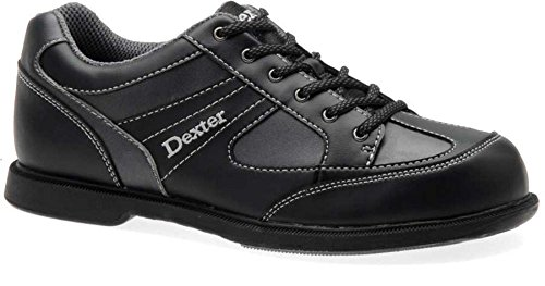 Dexter Pro Am II Bowling Shoes, Black/Grey Alloy, 9