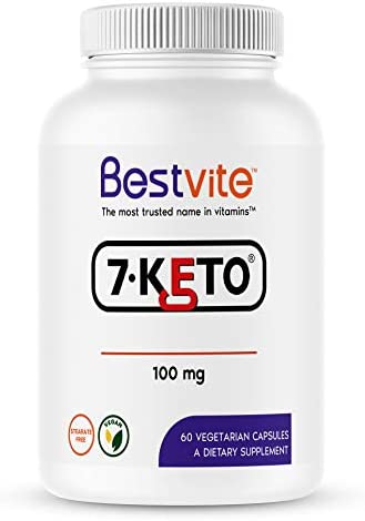 7-Keto 100mg DHEA (60 Vegetarian Capsules) - No Stearates 3
