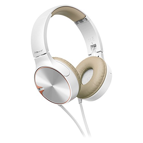 Pioneer SE-MJ722T-T Con micrófono On-ear Blanco