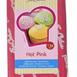 FunCakes Pasta di Zucchero Rosa Acceso - 1000 gr