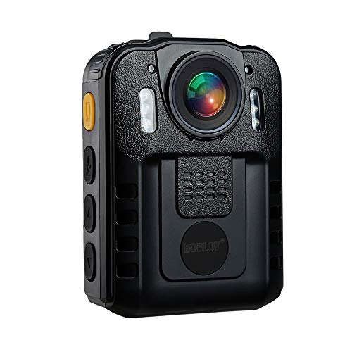 Boblov WN9 1296P Full HD Compact & Portable Body Police Camera Pocket Action Cam Video Camcorder Night Vision 170°Wide Angle
