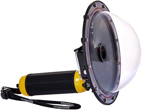 AmazonBasics Underwater Dome Port for GoPro, Yellow