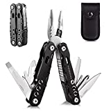 Kingmax Multitool Knife,Stainless Steel Multi tool with Safety Locking, Pliers, Knife, Bottle Opener, Screwdriver,Saw-Perfect for Outdoor, Survival, Camping, Fishing, Hiking,Emergency,Daily Use.