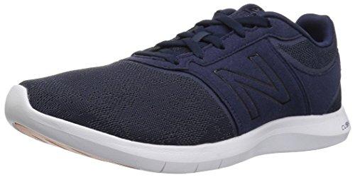 New Balance Women's 415V1 Walking-Shoes,Pigment/White,8 B US