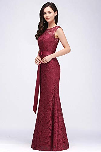 eadcea085a5 Babyonlinedress Lace Mermaid Evening Dress Women Formal Long Prom ...