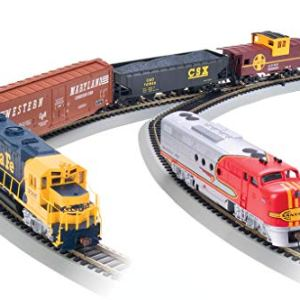 Bachmann Trains – Digital Commander DCC Equipped Ready To Run Electric Train Set – HO Scale 41Fxev0kkdL