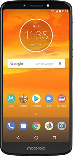 Motorola Moto E5 Plus XT1924-4 16GB, 6', Dual Sim, 2GB RAM, GSM Unlocked International Model, No Warranty (Grey)